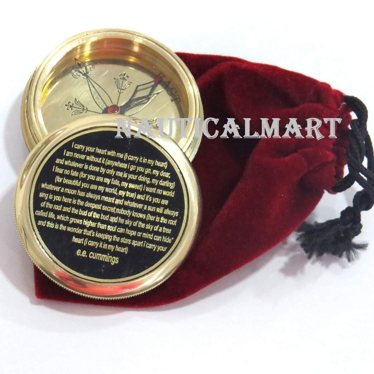 Cummings I Carry Your Heart Romantic Poem Compass E E