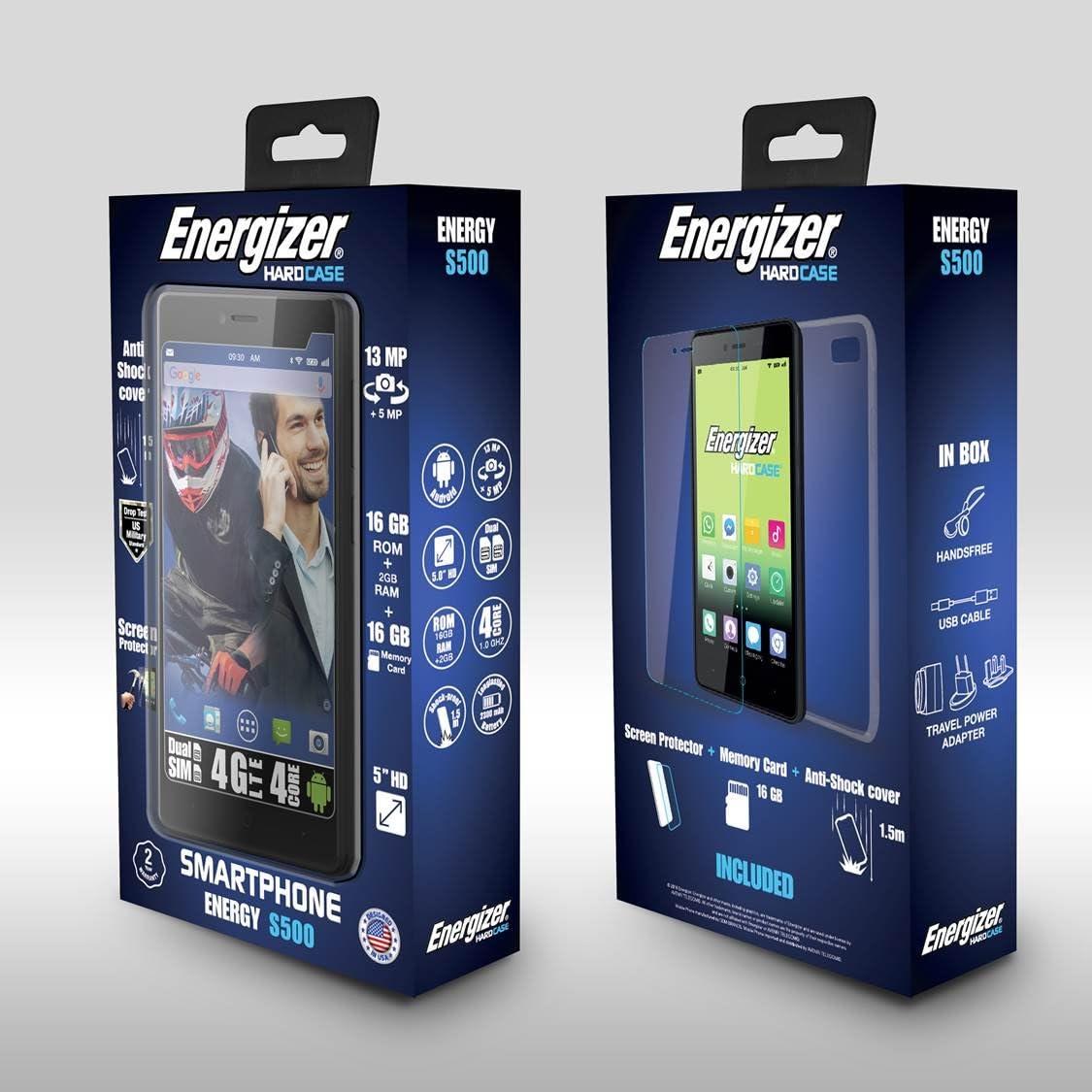 Energizer   Smartphone Energy 400 Dual SIM 3G A-GPS Resistente ...