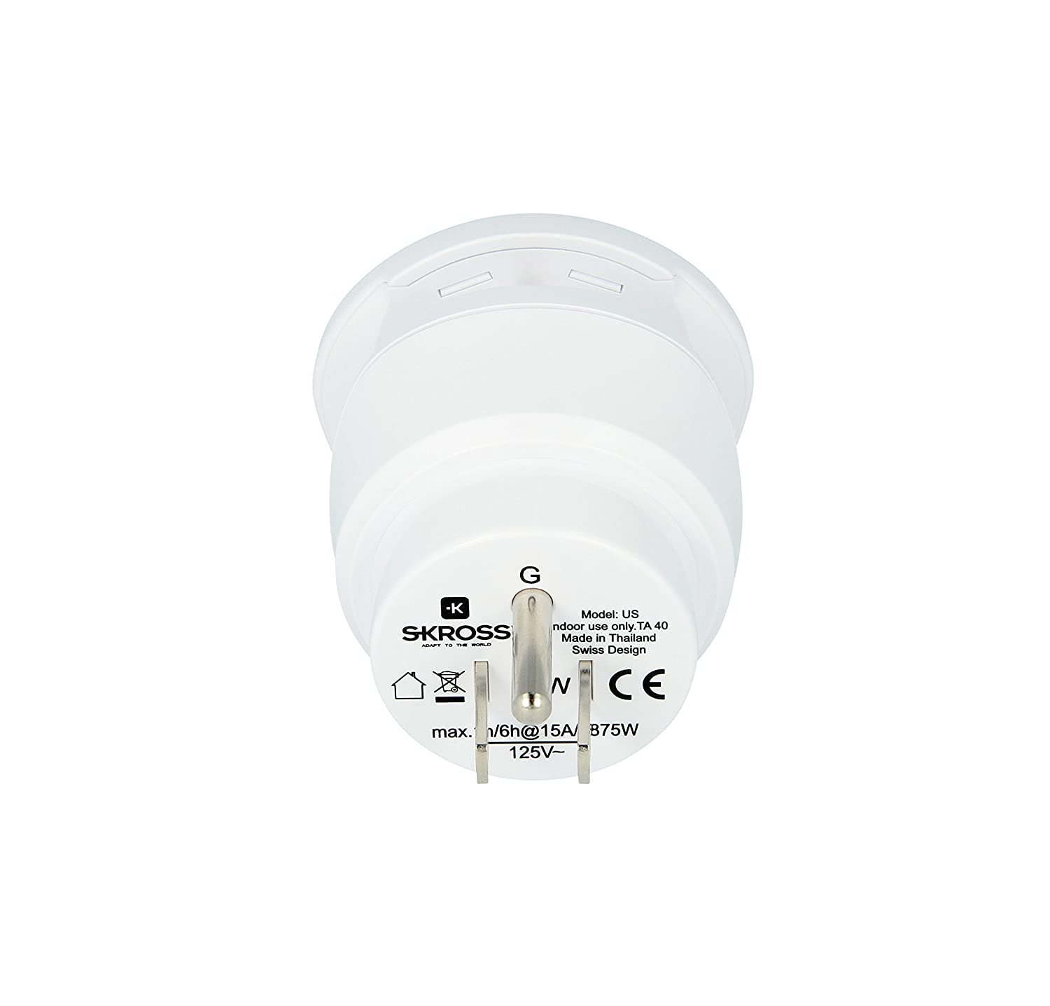 Skross World Travel Adaptor Combo for Europe and USA 1.500204
