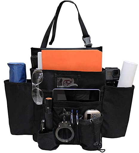 Truck Seat Organizer >> Clothink Car Seat Organizer Storage For Laptop Ipad Office Supplies More Fits Any Car Truck
