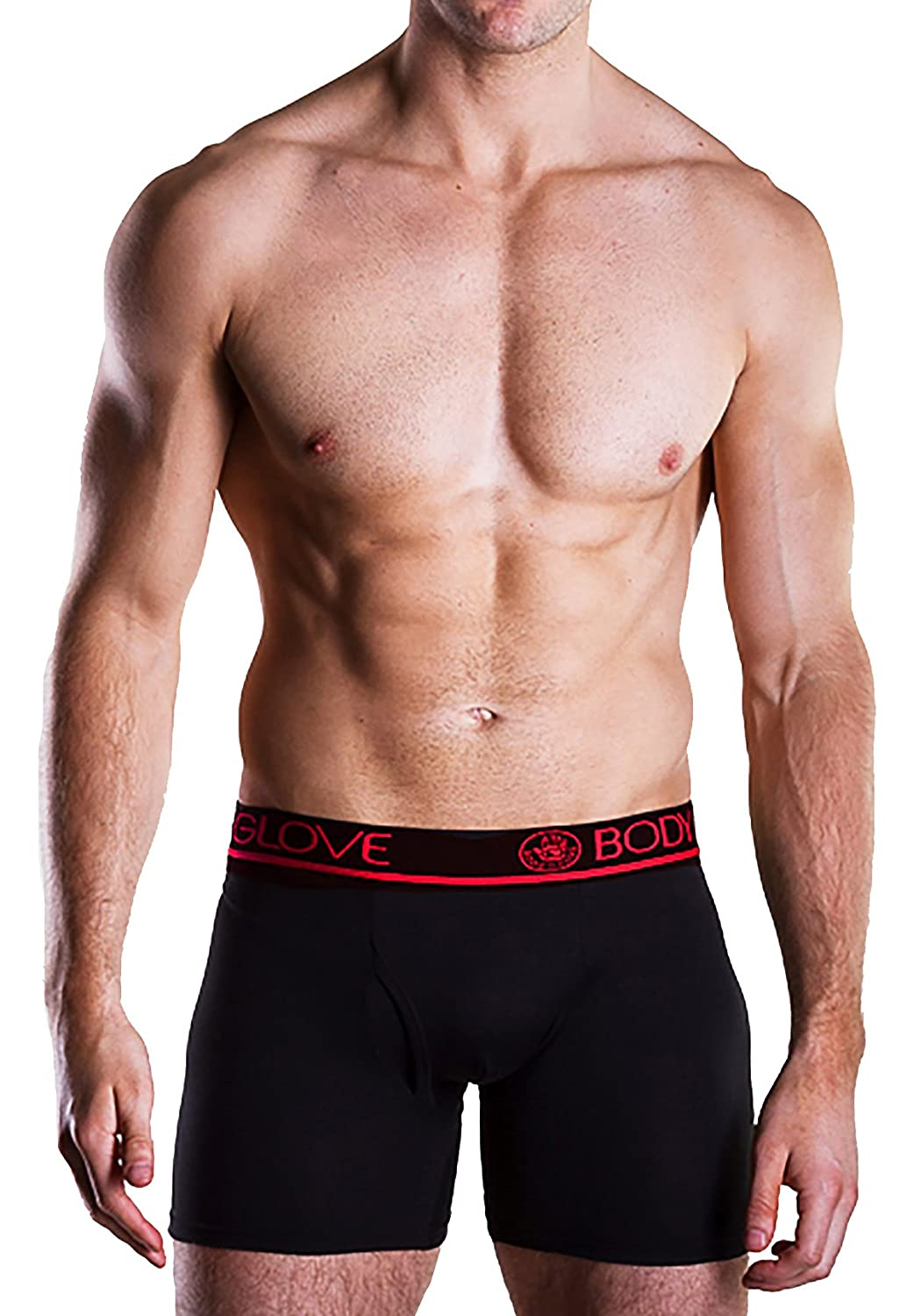 Body Glove Mens Microfiber Active Stretch 3 Pack Performance Boxer Briefs