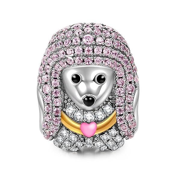 6 opinioni per NinaQueen- Poodle Queen- Charms Ciondolo da donna argento sterling 925 (la
