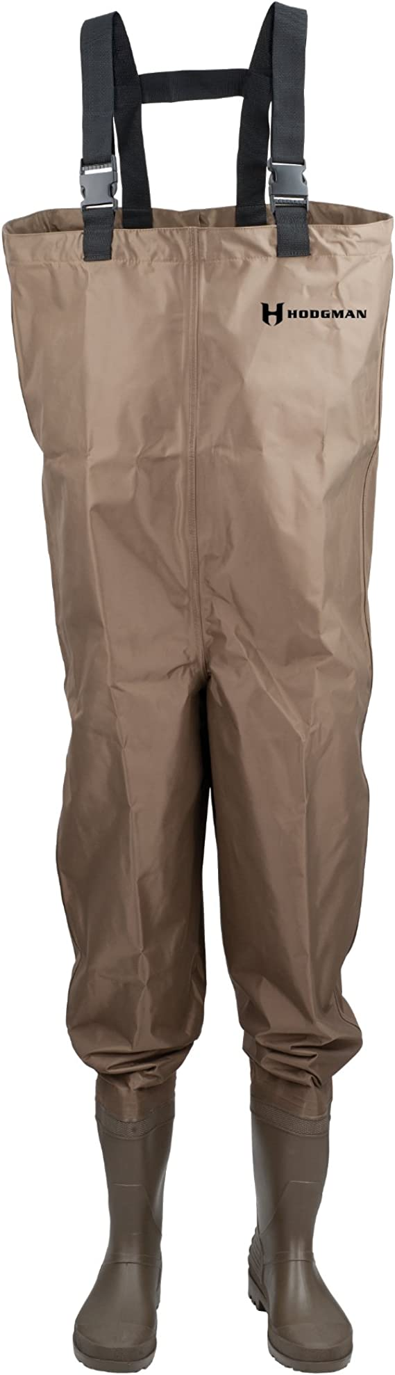 Best Fishing Waders : Hodgman Mackenzie Nylon and PVC Cleated Bootfoot Chest Fishing Waders