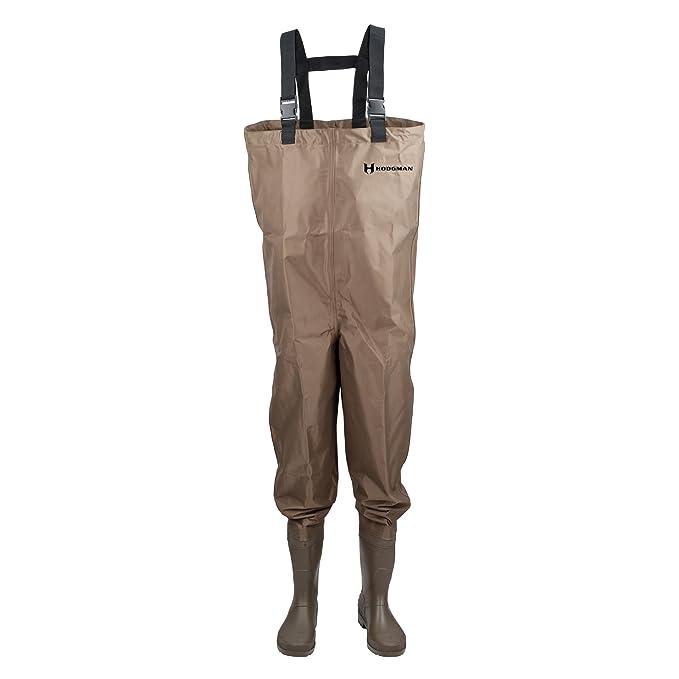 Best Fishing Waders : Hodgman Mackenzie Nylon and PVC Cleated Bootfoot Chest Fishing Waders
