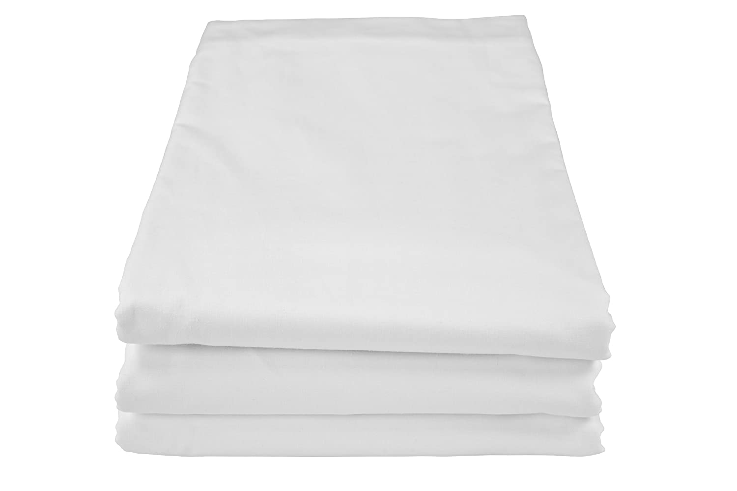Riegel 108 by 110-Inch King Flat Sheet with 200 Thread Count, White,6-Pack