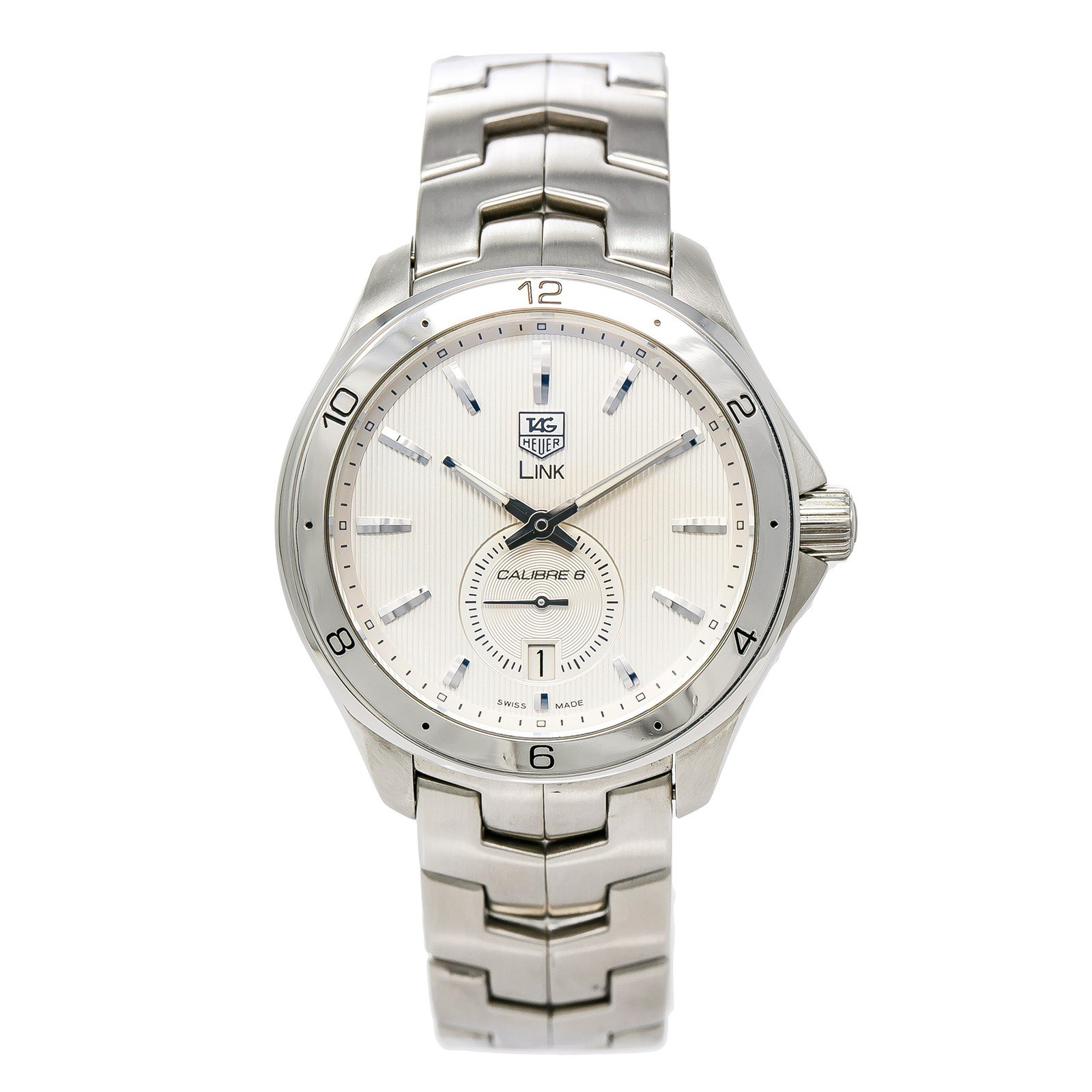 Tag Heuer Link Caliber 6 automatic-self-wind mens Watch WAT2111 (Certified Pre-owned)