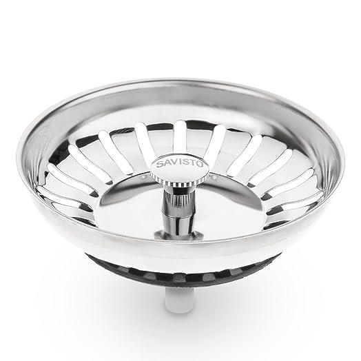 Savisto Premium Stainless Steel Kitchen Sink Plug Strainer ...