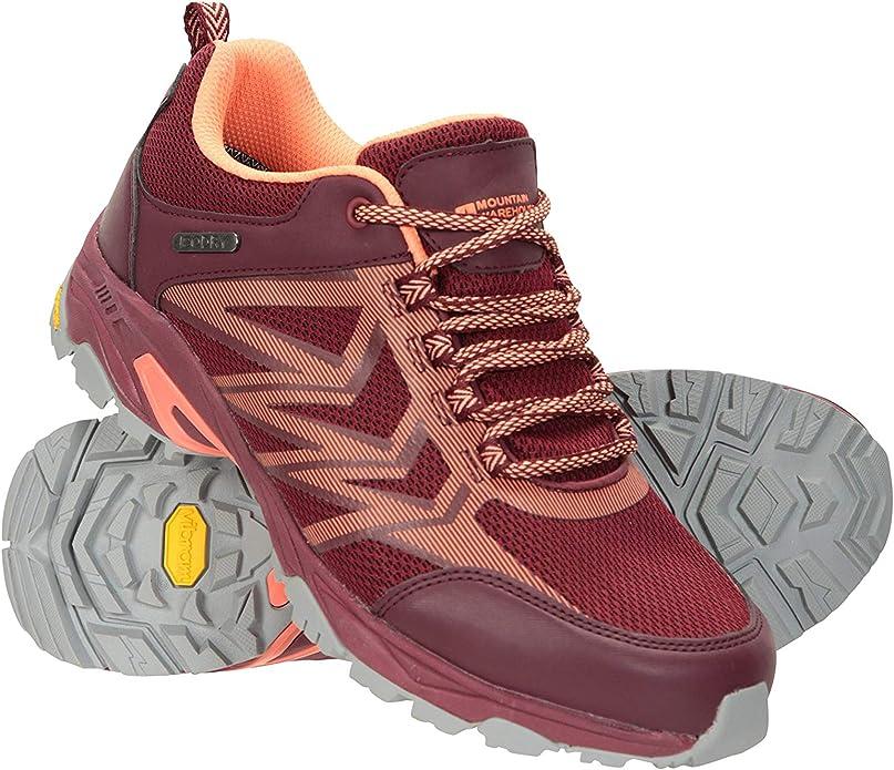 Mountain Warehouse Pace Rival Extreme Zapatillas para Correr Mujer - Suela Vibram de Gran adherencia, Calzado Ligero, Plantilla de EVA, Forro de Malla - para Caminar, Viajar: Amazon.es: Zapatos y complementos