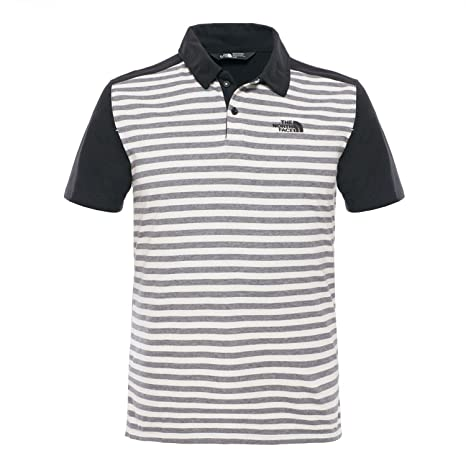 North Face Contour - Polo para Hombre, Color Negro/Gris, Talla L ...