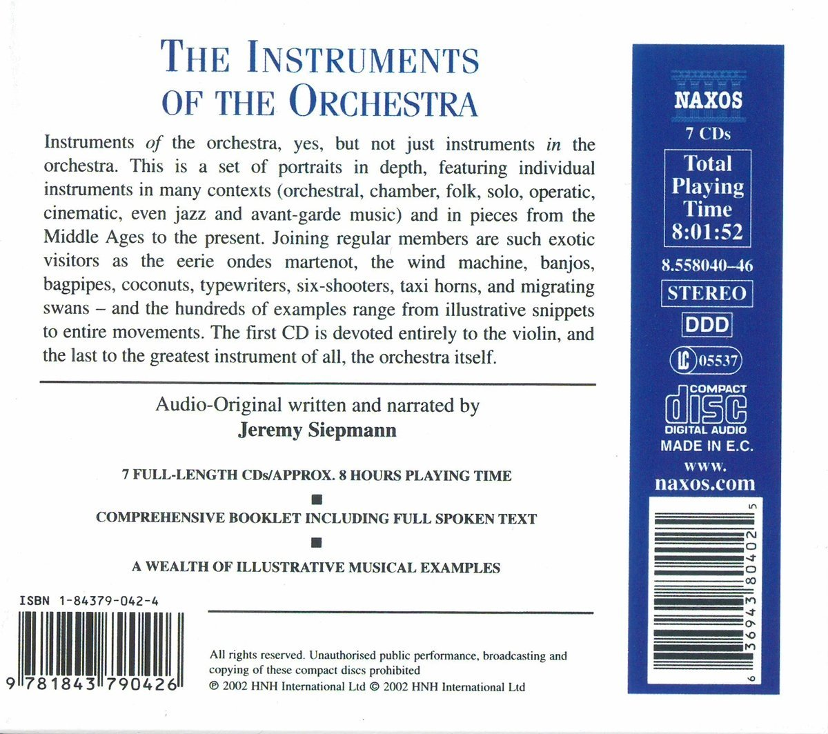 Instruments of the Orchestra / Various by Alfred
