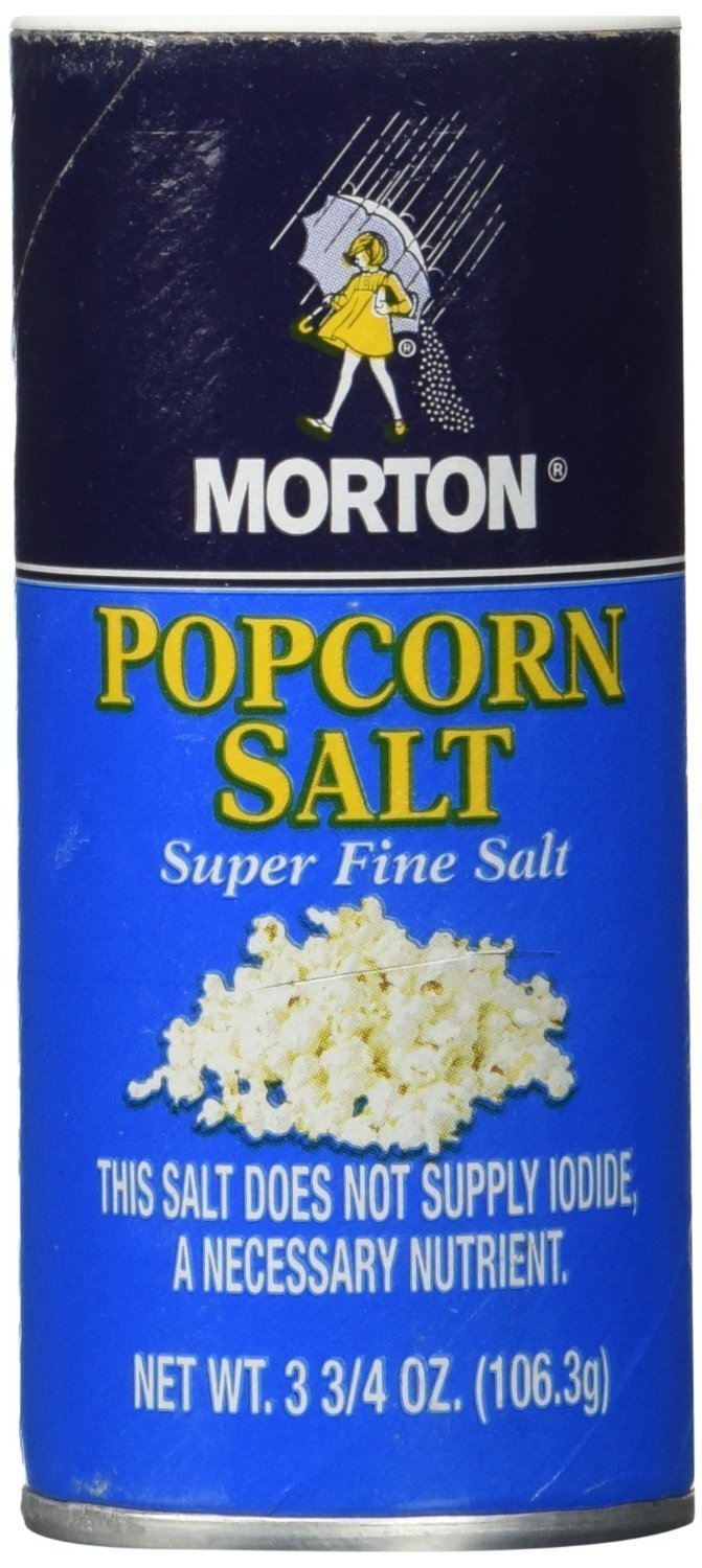 Morton Popcorn Super Fine Salt 3.75-oz 6 Pack