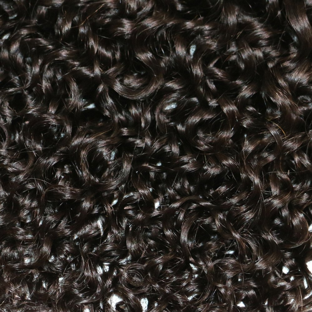 BQ HAIR Deep Curly 360 Frontal with Bundles 8A 100% Unprocessed Virgin Brazilian Human Hair -3 Bundles with 360 Lace Frontal Closure Pre Plucked (18''20''22''&16'') by BQ HAIR (Image #7)
