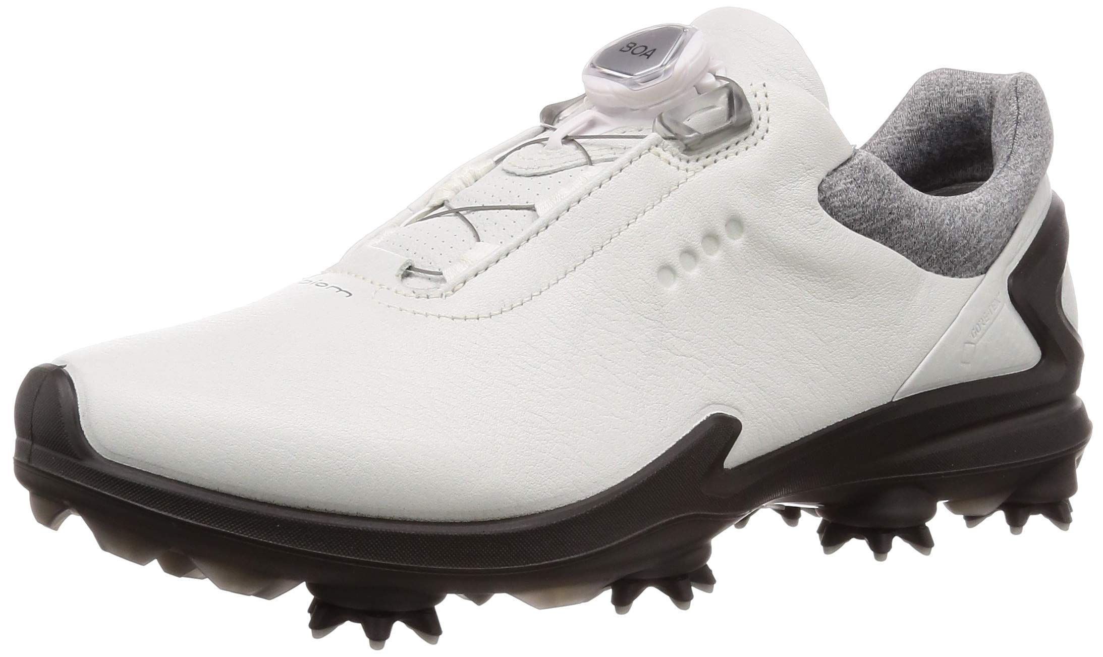 ECCO Men's Biom G3 BOA Gore-TEX Golf Shoe, Shadow White Yak Leather, 10 M US by ECCO