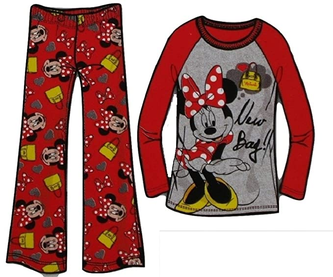 11554fe3b Amazon.com  Disney Minnie Mouse Girls Pajama Gift Set (X-Small (4 5 ...