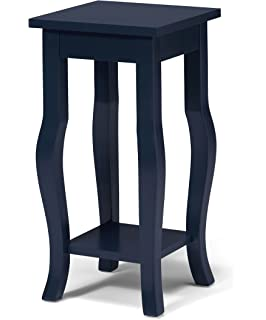 Amazon.com: Indoor Plant Stand, Wood Pedestal Telephone Table ...