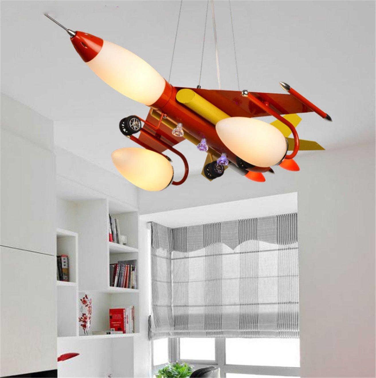 Flugzeug Lampe Junge Schlafzimmer Kinderzimmerlampe Pendelleuchte ...