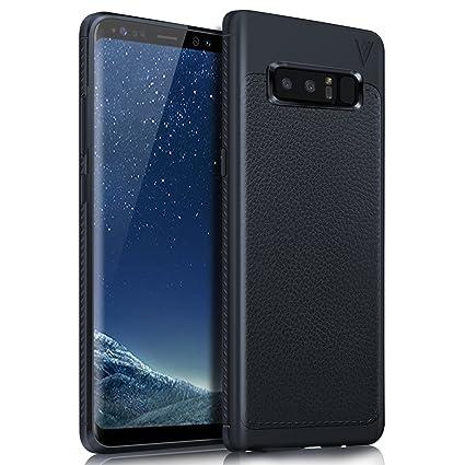 Funda Samsung Galaxy Note 8, KuGi anti-rasca la Carcasa del teléfono TPU del de la imitación ninguna Case del teléfono móvil caja del teléfono Cover ...
