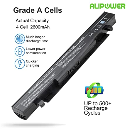 Amazon.com: Alipower Battery Compatible with ASUS A41-X550 A41-X550A A32-X550 X450 X550 A450 A550 F450 F550 K550 K450 F552 P450 P550 R409 R510: Computers & ...