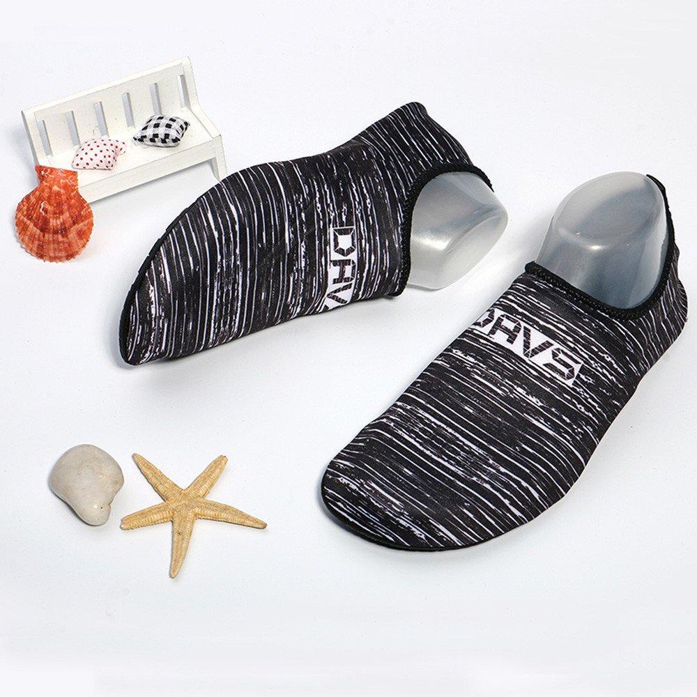 VonVonCo Men Women Beach Swim Shoes Quick-Dry Aqua Socks Surf Yoga Water Shoes Aerobics