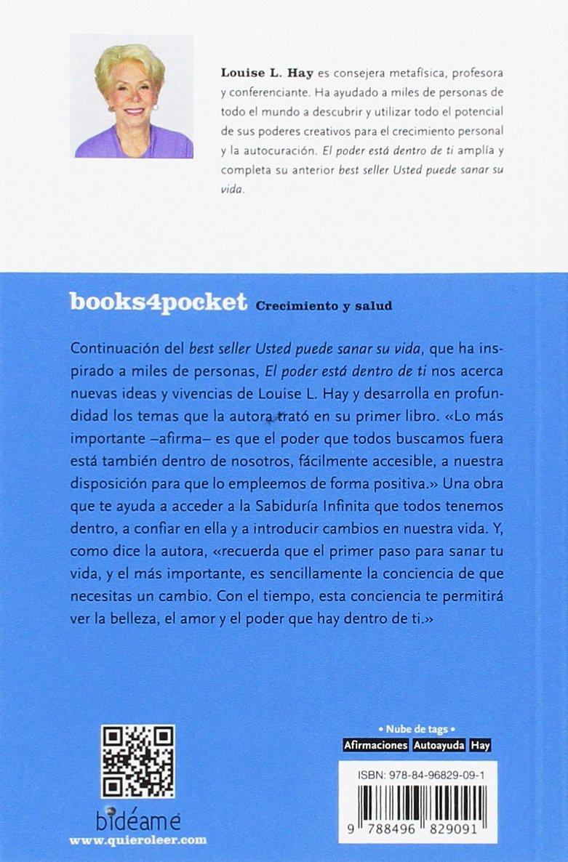 El poder está dentro de ti Books4pocket crec. y salud: Amazon.es: Louise  Hay: Libros