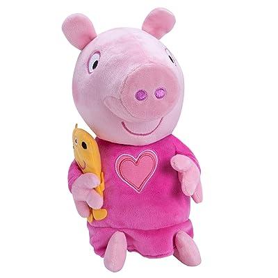 Peppa Pig Slumber N' Oink Peppa Plush: Toys & Games