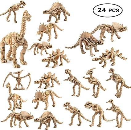 1* DIY Dinosaur Fossil Skeleton Figures Kids Toy Dinosaurs Toys High Quality