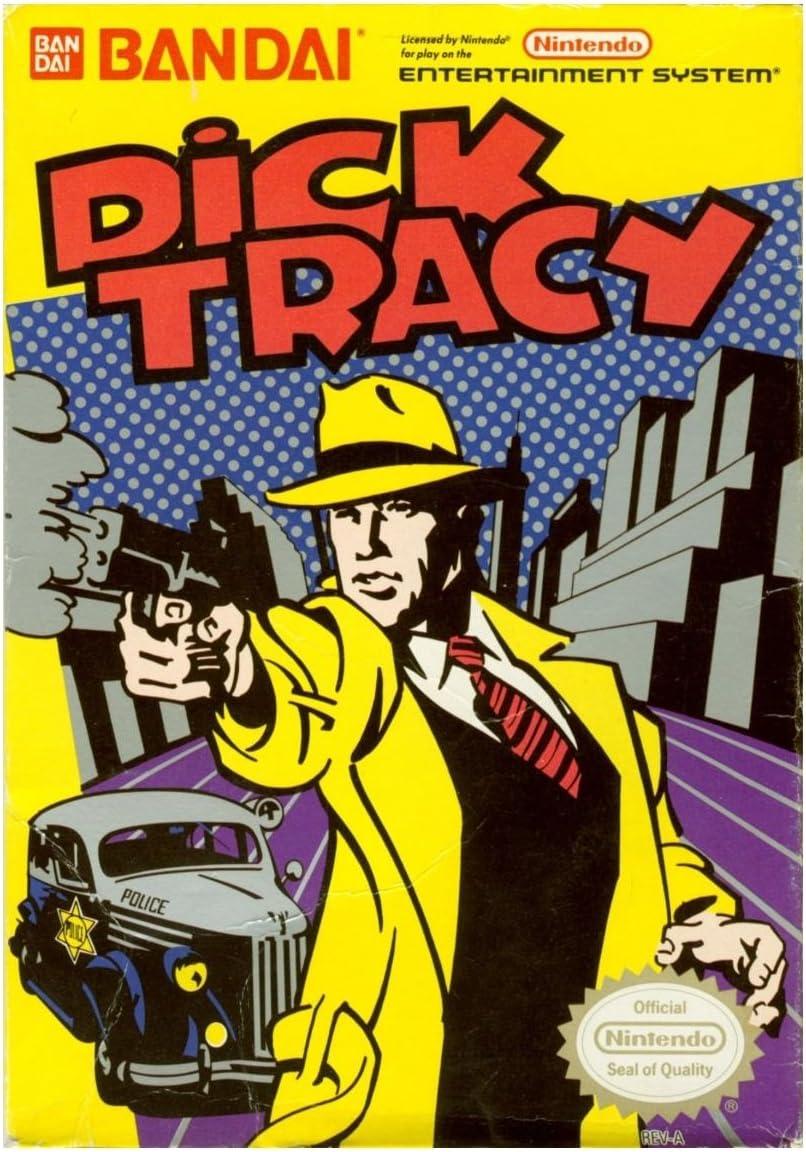 Amazon.com: Dick Tracy - Nintendo NES: Nintendo: Video Games