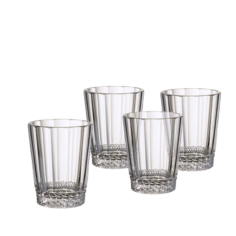 Villeroy & Boch 1137898140 Opera Water/Juice Glass : Set of 4, 4.25 in/10.5 oz, Clear by Villeroy & Boch