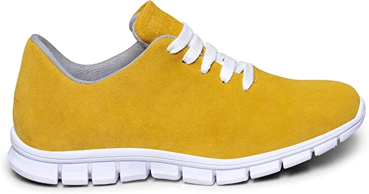 Zapatos miMaO. Zapatos Piel Mujer Hechos EN ESPAÑA. Zapatillas Mujer. Zapatilla Mujer Deportiva Hidrófuga con Plantilla Memory Absorber Foam: Amazon.es: Zapatos y complementos