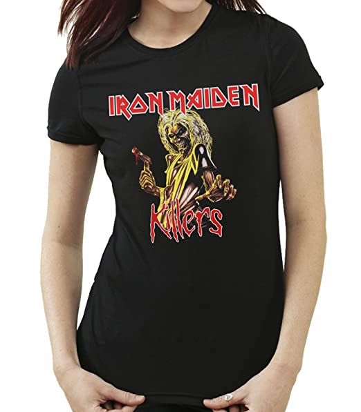 35mm - Camiseta Mujer - Iron Maiden - Killers - Womens T-Shirt