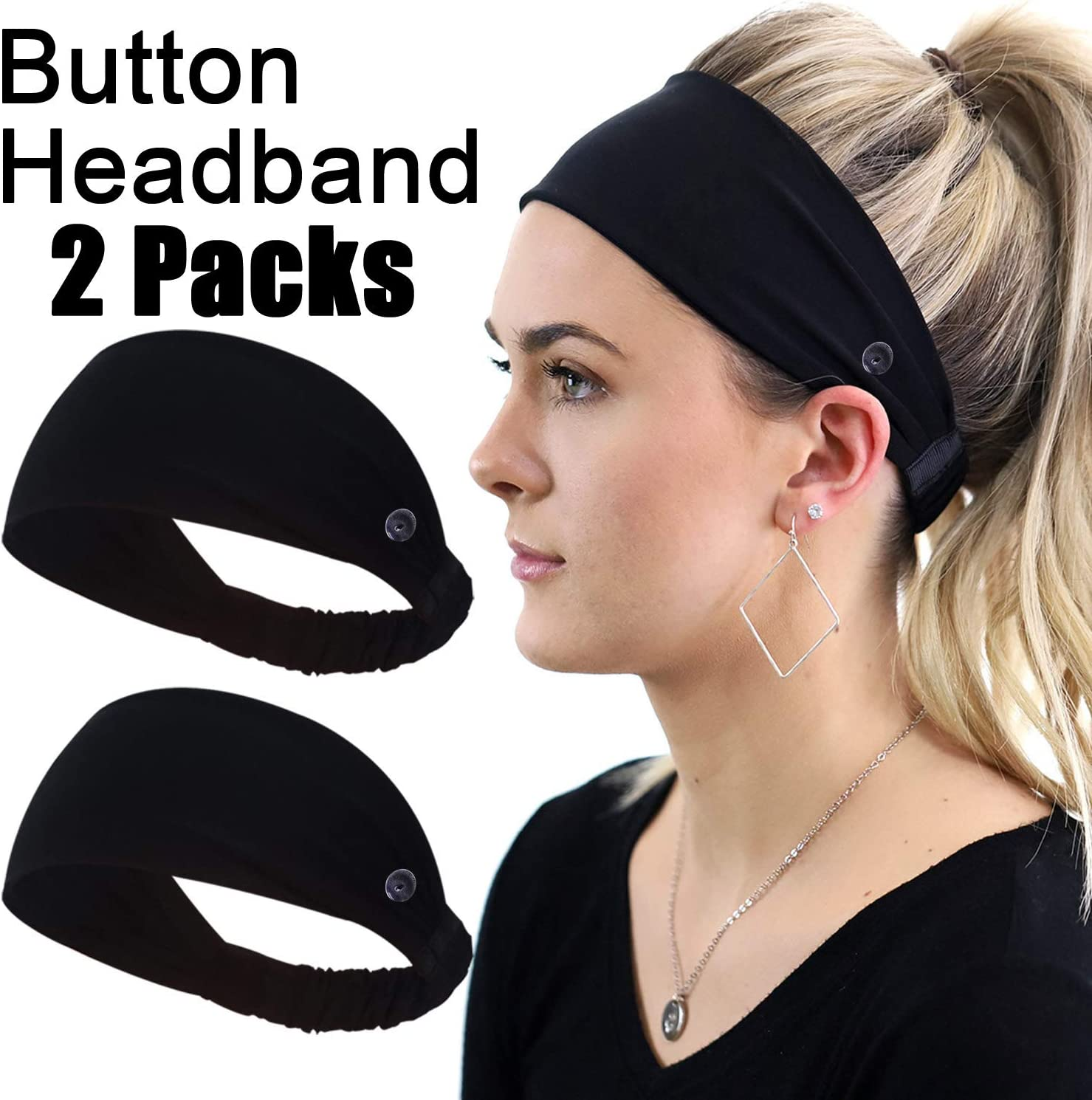 Headwear Never Say Sweatband Elastic Turban Sport Headband Outdoor Head Wrap
