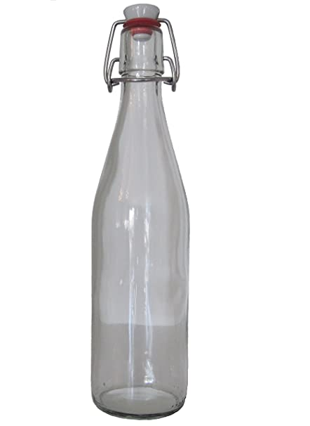 6 botellas de cristal vacías 500 ml vacías Botellas de cristal (cerveza botella Aceitera Botella