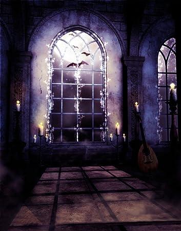 Amazoncom AMonamour Halloween Mysterious Scene Gothic Domed