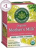 Traditional Medicinals Organic Mother's Milk Women's Tea, 16 Tea Bags (Pack of 6)