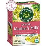 Traditional Medicinals Organic Mother's Milk Women's Tea, Promotes Healthy Lactation, 16 Tea Bags (Pack of 6)