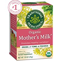 Traditional Medicinals Organic Mother's Milk Women's Tea, Promotes Healthy Lactation...