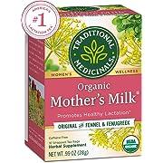 Traditional Medicinals Organic Mother's Milk Women's Tea Bags, 16 Count, Pack of 6