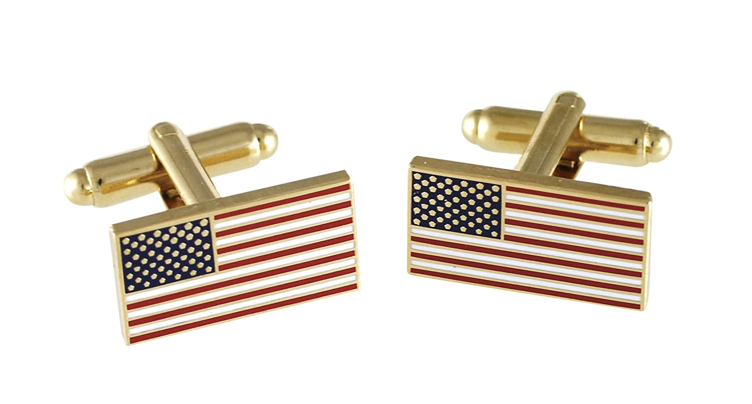 Official American Flag Cufflinks Forge USA1776