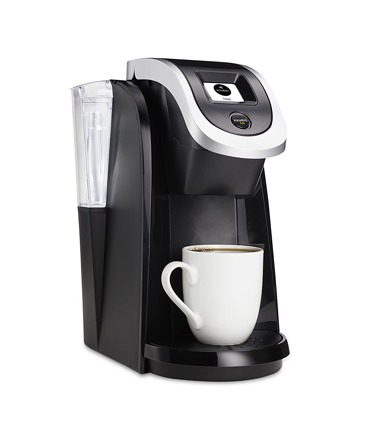 Electronic Keurig Coffee Machine Price amazon com keurig 2 0 brewer k200 black kitchen dining