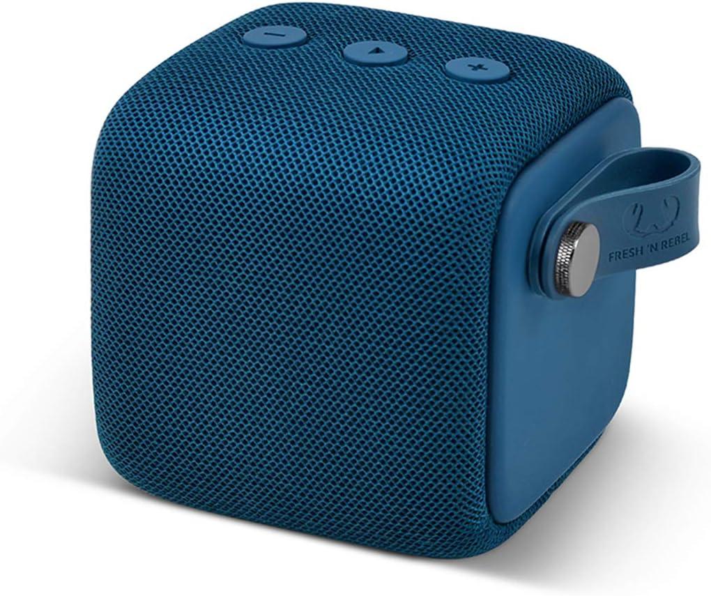 Fresh N Rebel Rockbox Bold S Indigo Wasserdichter Ipx7 Bluetooth Lautsprecher Audio Hifi