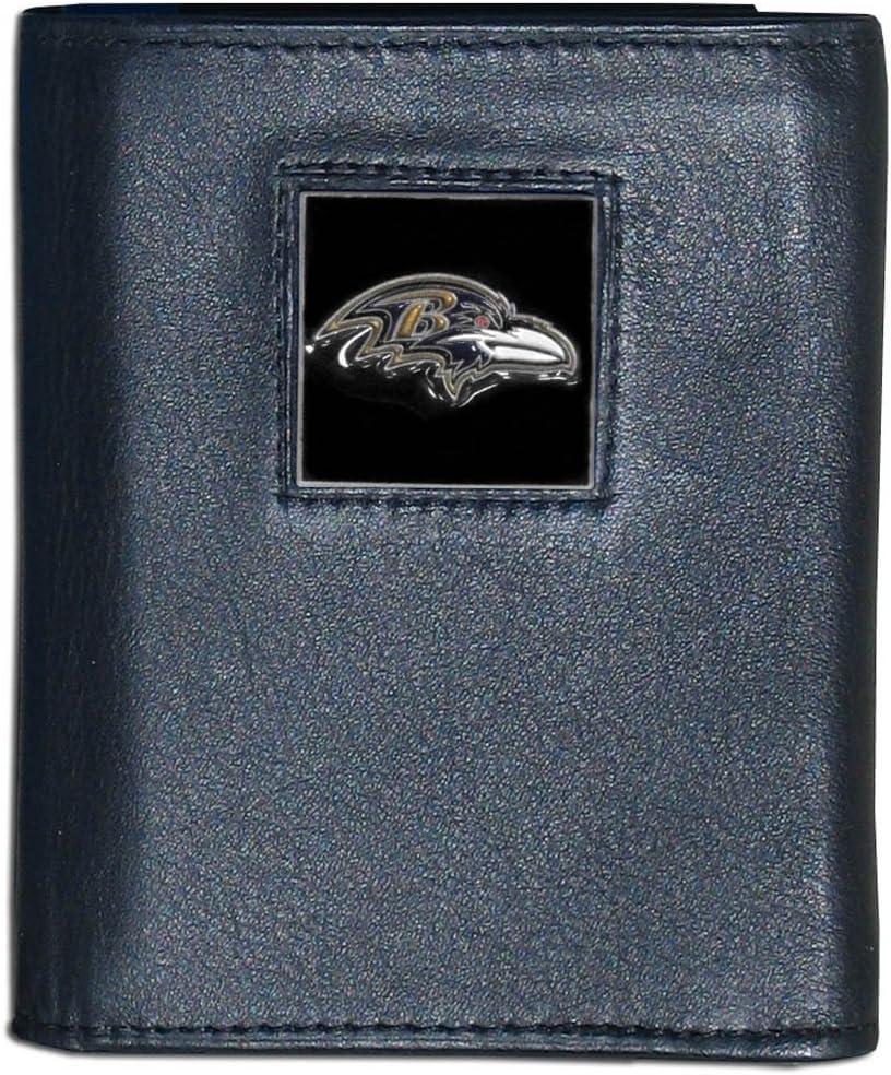 NFL Baltimore Ravens Leather Tri-Fold Wallet