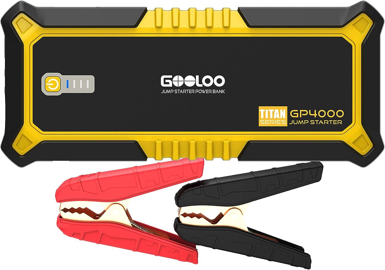 Gooloo GP4000 4000A Jump Starter  $85.79 Coupon