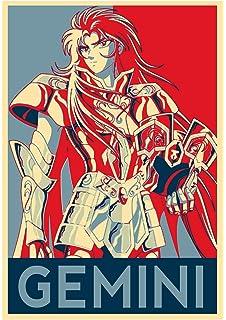 Formato A3 Saint Seiya Shaka 42x30 cm Poster Propaganda