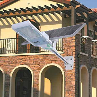 WRHN Foco Solar Exterior Luces Solares Jardín, Foco Led Solar Jardín Lluminacion Exterior Solar Focos LED Exterior Impermeable IP65 Lámparas Solares,Ultra Potente Farolas Solares (Size : 100W): Amazon.es: Iluminación