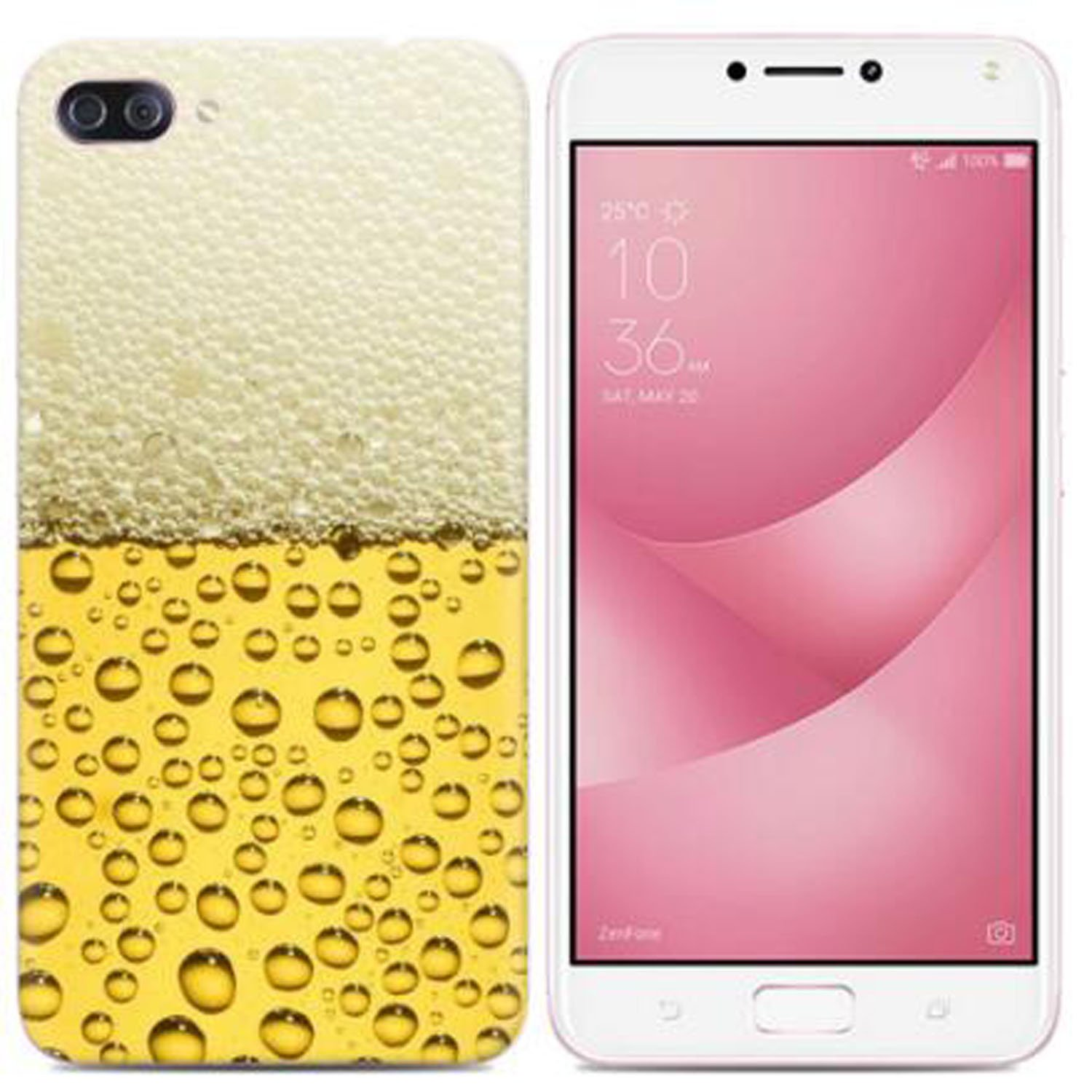 Yrlehoo For Asus Zenfone 4 Max Zc520kl 5 2 Inch Soft Silicone Case For Asus Zenfone 4 Max Zc520kl 5 2 Inch Case Cover Etui Protect Backcase Protection Beer Buy Online In Botswana At
