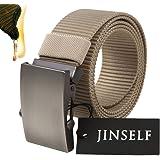 JINSELF 【グレードアップ版】 S級永久ベルト 純正ナイロン100% メンズ 自動巻き