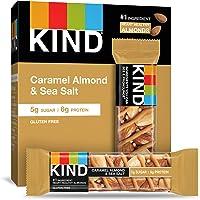 KIND Bar, Caramel Almond & Sea Salt, 1.4 Ounce, 60 Count