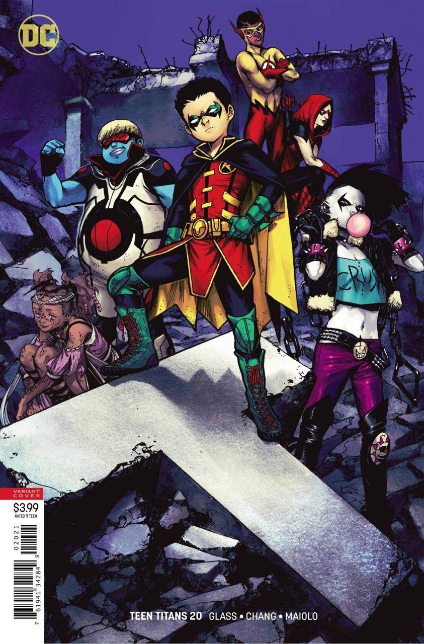 Teen Titans (2017) #20 VF/NM (9.0) or better variant cover B DC Universe