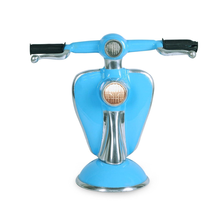 Art Deco Home - Lampara de Mesa Vespa Azul 30 cm - 2164 ...