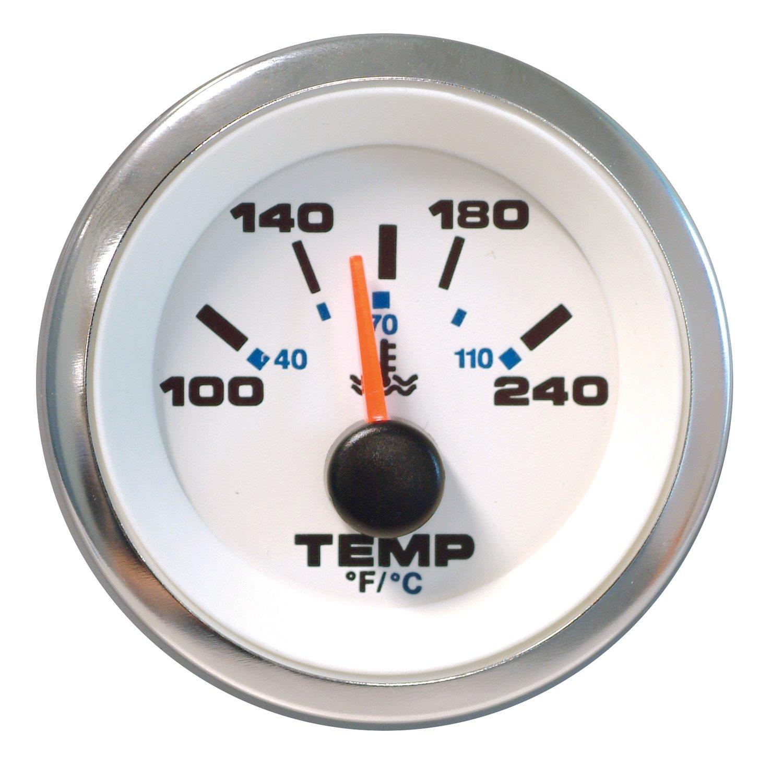 Sierra internacional 62540p blanco Premier Pro medidor de temperatura del agua, 2